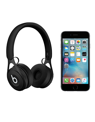 Beats by Dr Dre EP with iPhone 6s