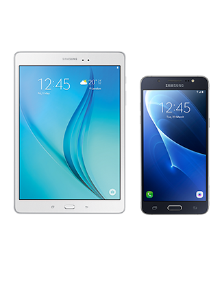 Samsung Galaxy Tab A 7 Wi-Fi with Samsung Galaxy J5