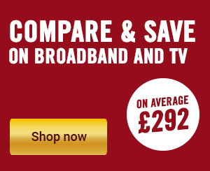 Unlimited  broadband from £18.99