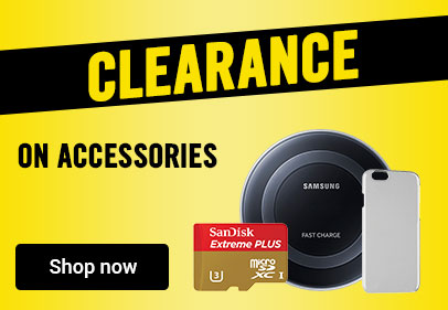 Clearance on accessories