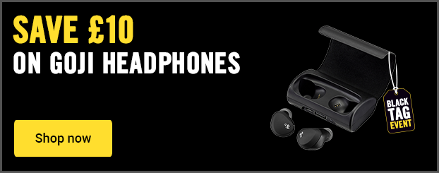 Save £10 on Goji true headphones