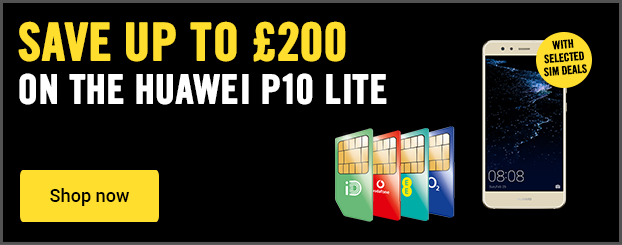 Save up to £200 on the Huawei P10 Lite on SIM free