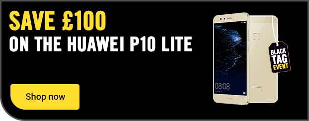 Save £100 on the Huawei P10 Lite on SIM free