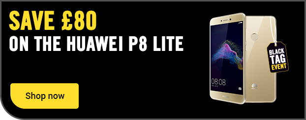 Save £80 on the Huawei P8 Lite on SIM free