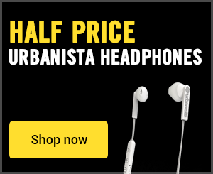 Half price urbanista headphones