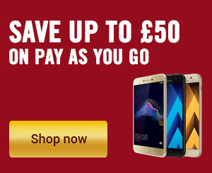 Save up to £50 on pay as you go