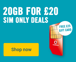 SIM only deals from £3.99