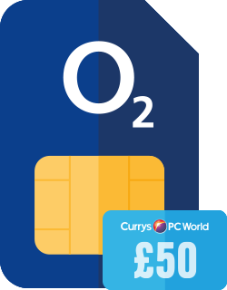 £50 Currys/PC World Giftcard with selected SIM Only deals