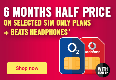 6 months half price on selected SIM only plans
