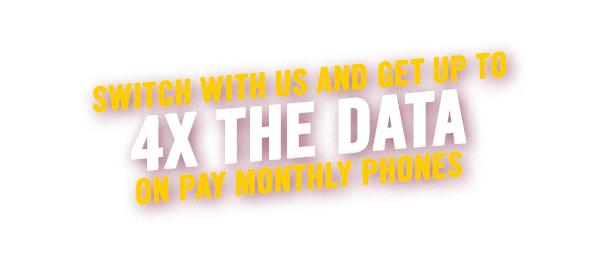 Big Data Give Away On Pay Monthly Phones