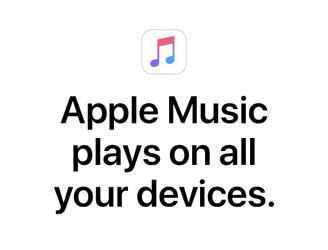 Apple Music plays on all your devices
