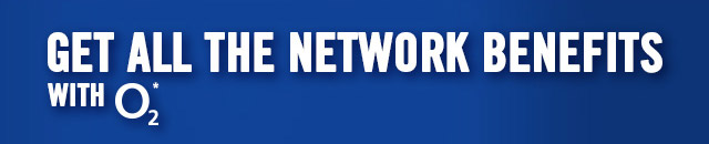 Get All The Network Benefits With O2