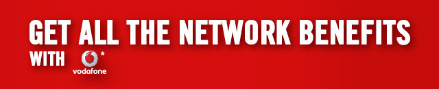 Get All The Network Benefits With Vodafone