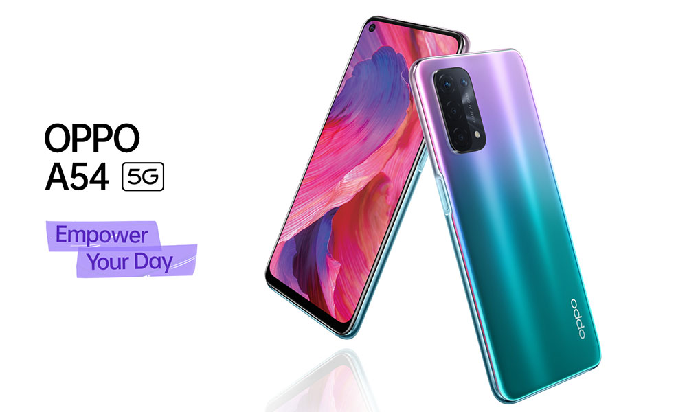 OPPO A54 5G - Empower Your Day