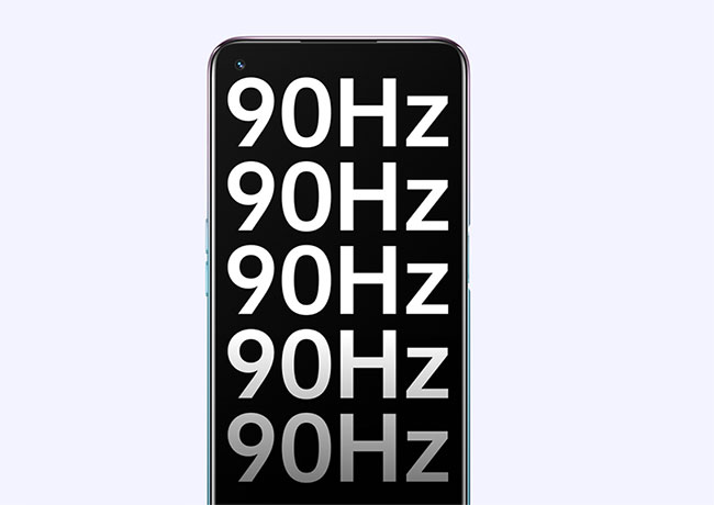 90Hz Refresh Rate - Just Tap and Go