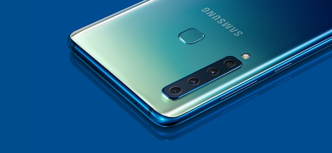 Samsung Galaxy A9 - Your world widened with quad camera