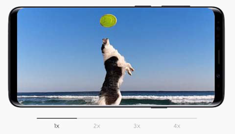 Samsung Galaxy S9 Capture the moment within the moment