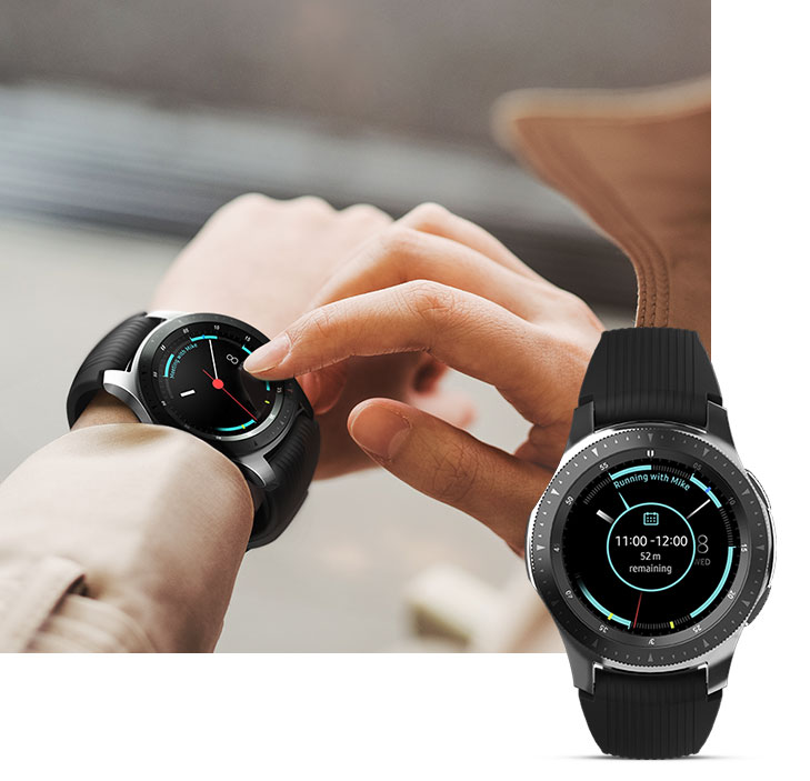 Samsung Galaxy Watch - Never miss a thing