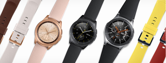 Samsung Galaxy Watch - Wear it your way