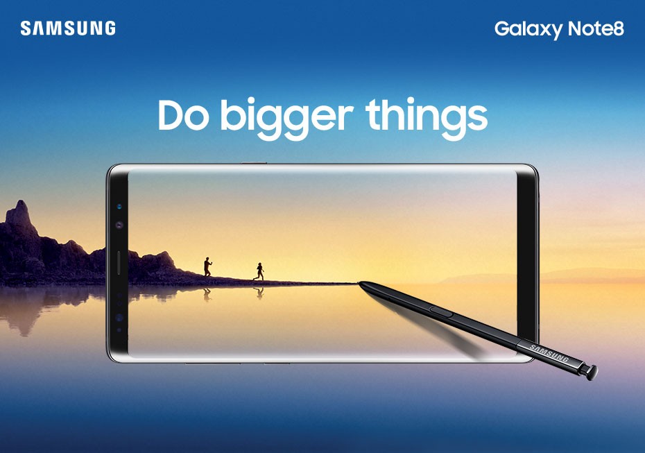 Samsung Galaxy Note8 - Do bigger things