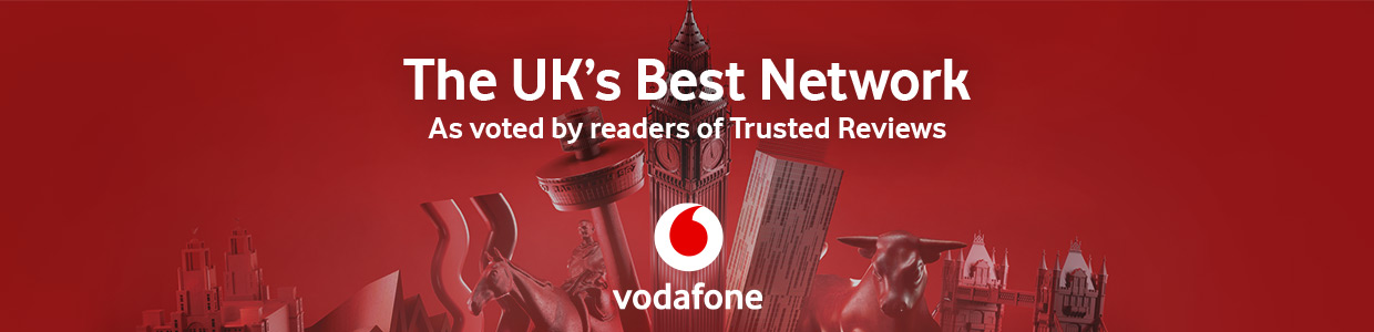 Vodafone - The UK's Best Network as voted by readers of Trusted Reviews